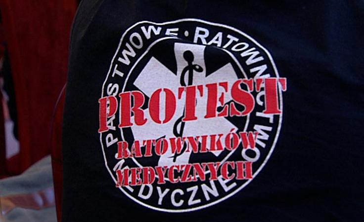 Ratownicy medyczni zapowiedzieli zaostrzenie protestu