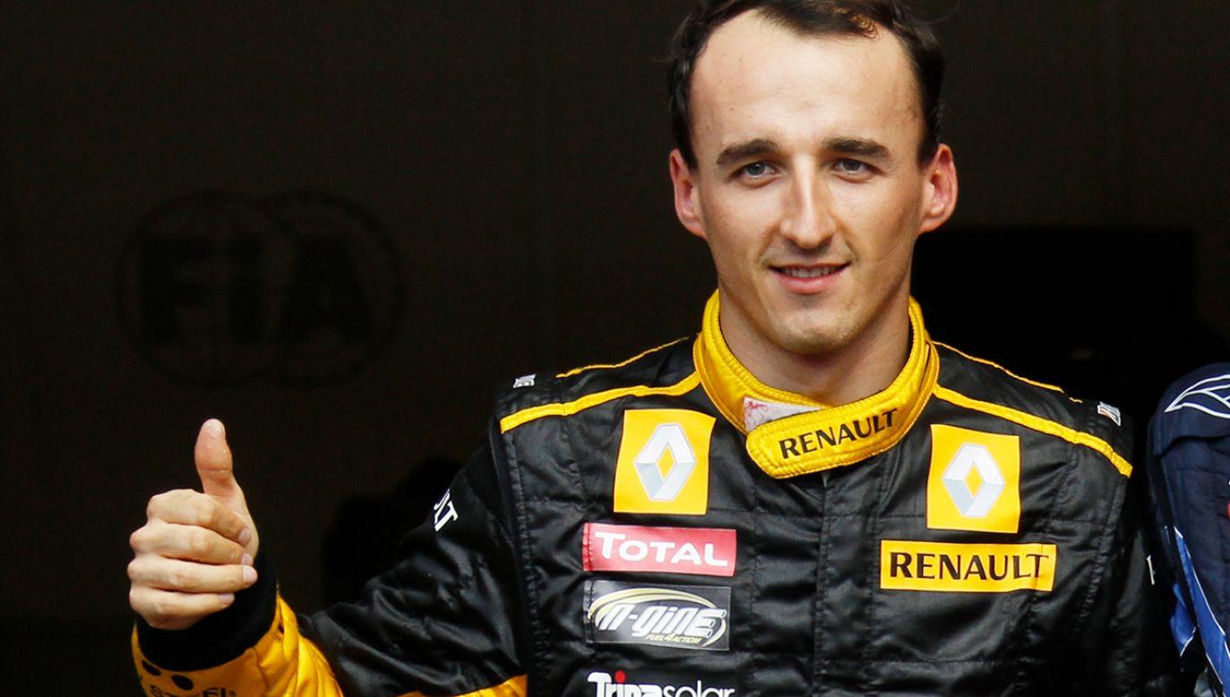 Robert Kubica – jedyny w historii Polak w Formule 1 (fot. REUTERS/Thierry Roge)