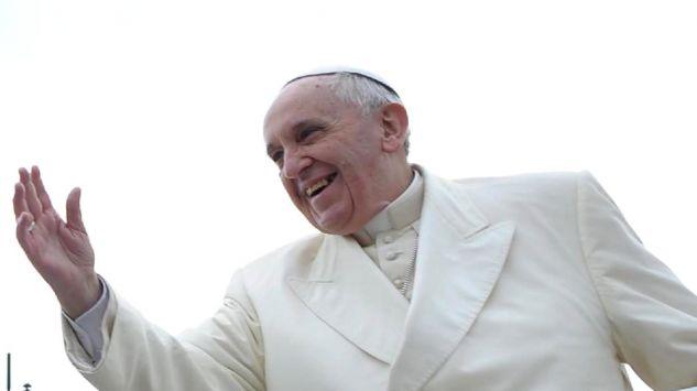 Wyj tkowy portret dla papie a franciszka for Mural z papiezem franciszkiem