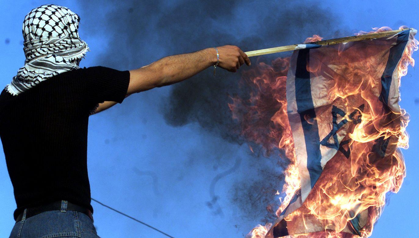 Zamieszki po decyzji Donalda Trumpa o uznaniu Jerozolimy stolicą Izraela (fot. Salah Malkawi/Getty Images))