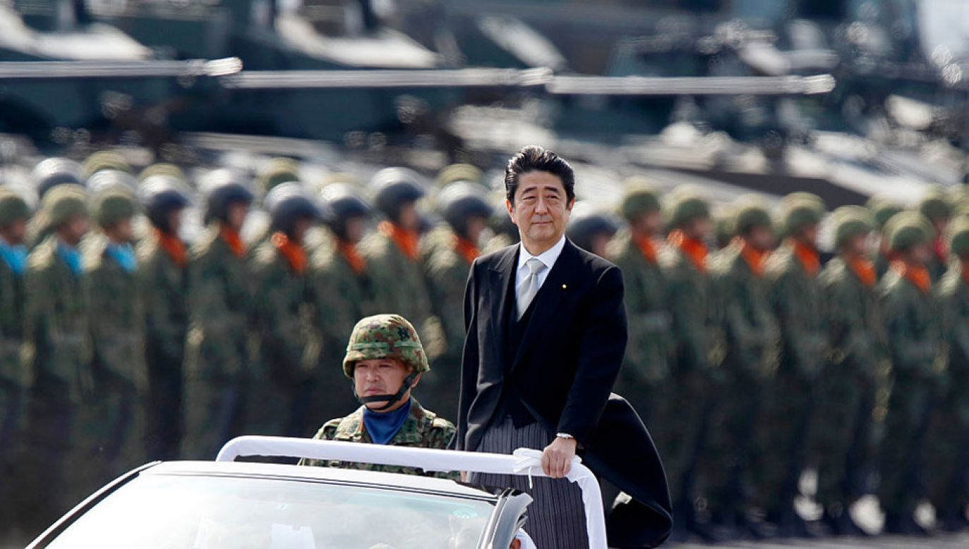 Premier Japonii Shinzo Abe (fot. Tomohiro Ohsumi/Getty Images)