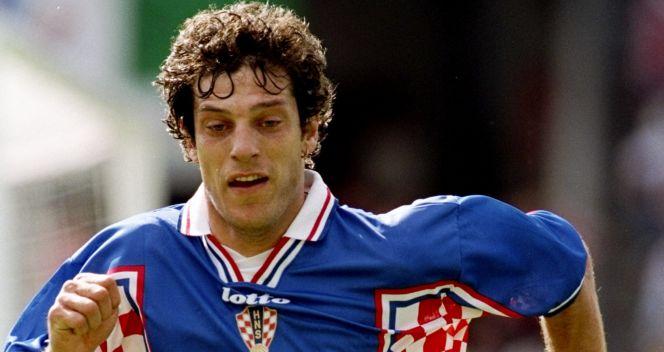 Slaven Bilić w 1998 roku był filarem chorwackiej defensywy. Obecnie jest trenerem Vatreni (fot. Getty Images)
