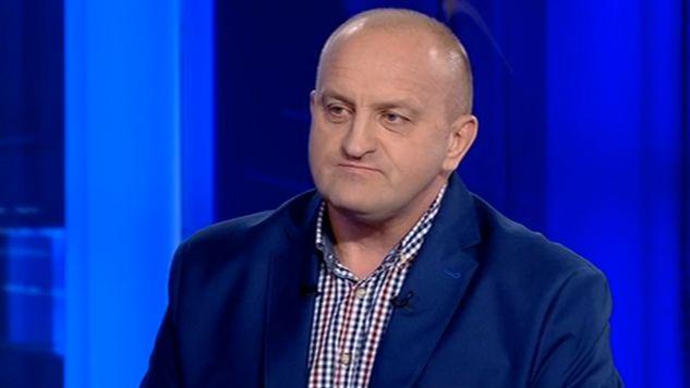Marian Kowalski obawia się o swój los, gdyby KOD doszedł do władzy (fot. TVP)
