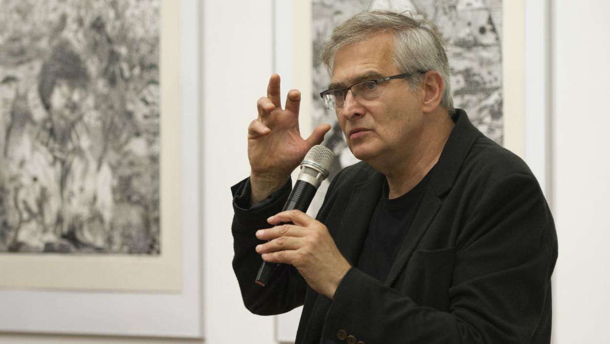 Za całokształt dokonań w Teatrze Telewizji i w słuchowiskach Polskiego Radia nagrodzono także Olgierda Łukaszewicza (fot. N. Młudzik/TVP)