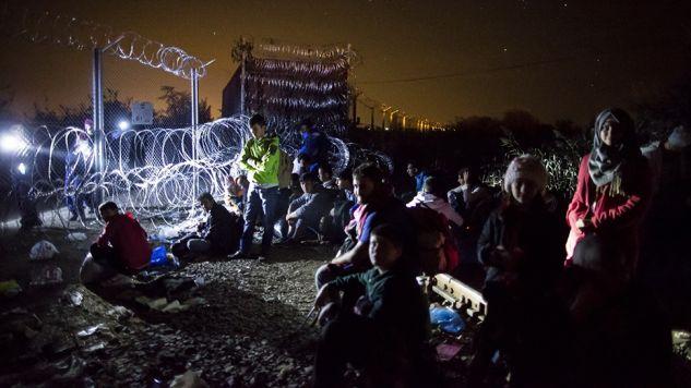 Europa zmaga się z kryzysem migracyjnym (fot. Arpad Kurucz/Anadolu Agency/Getty Images)