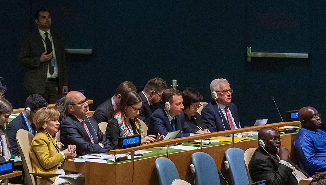 Minister Jacek Czaputowicz przyznał, że zapobieganie konfliktom jest trudnym zadaniem (fot. MSZ)