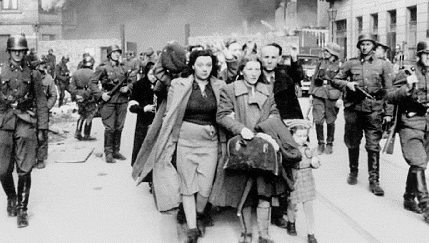 Powstanie w getcie warszawskim (fot. wikipedia.org)