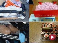 50 kilogramów amfetaminy i 10 tysięcy tabletek ecstasy w transporcie wieprzowiny