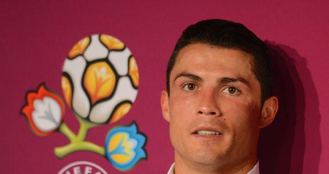 Cristiano Ronaldo po meczu chętnie udzielał wywiadów (fot. Getty Images)