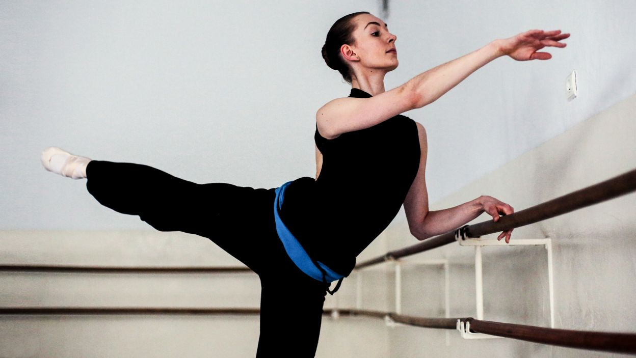 Alicja Kaczor, 17. Uczennica Ogólnokształcącej Szkoły Baletowej im. Ludomira Różyckiego w Bytomiu (fot. Zuza Gąsiorowska)