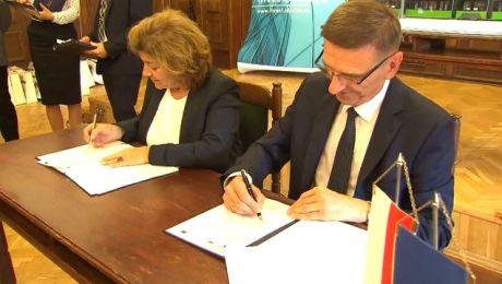 Prezydent Olsztyna podpisał umowę z turecką firmą