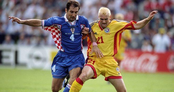 Igor Stimać podczas meczu 1/8 finału z Rumunią (fot. Getty Images)