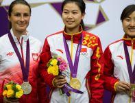 Po trrumfie Bogackiej, reprezentacja Polski była na drugim miejscu w klasyfikacji medalowej (fot.PAP/EPA)