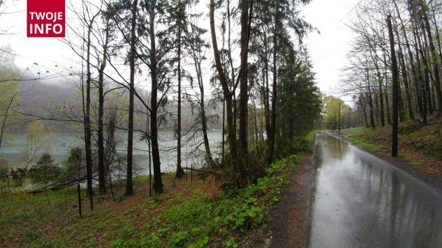 Rejon zapory wodnej w Bielsku-Białej (fot. p. Konrad na kontakt twoje@tvp.info)