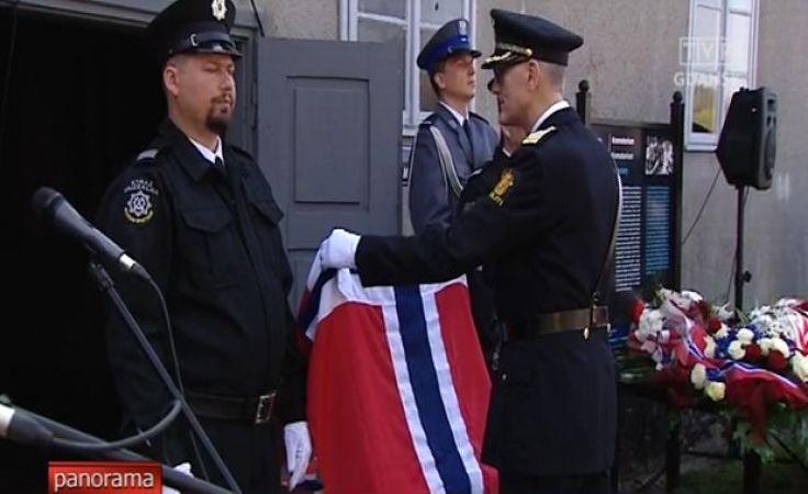 Norwescy policjanci - więźniowie Stutthofu
