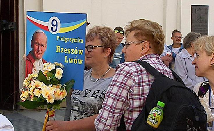 Wyruszyła piesza pielgrzymka z Rzeszowa do Lwowa
