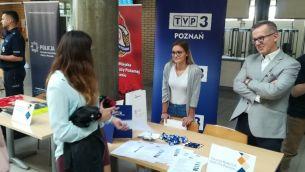TVP3 Poznań na V Targach Praktyk i Staży