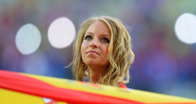 Z takimi fankami Hiszpanie nie mogą przegrywać (fot. Getty Images)