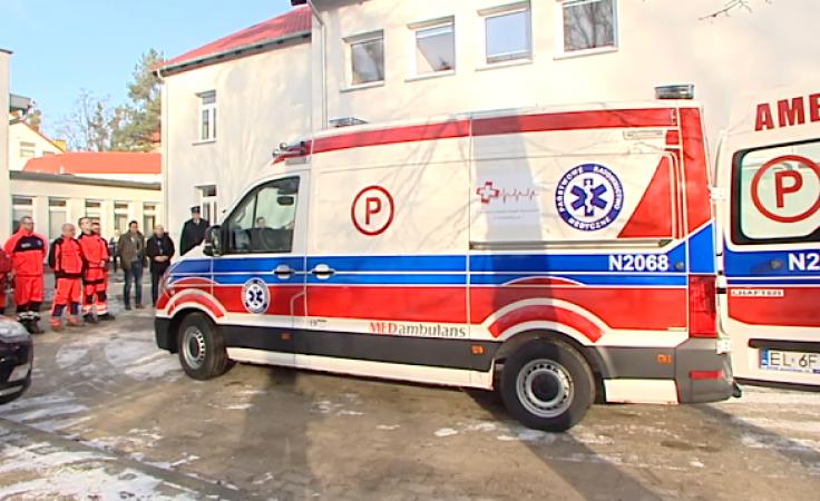 W trosce o zdrowie i życie pacjentów. Ratownicy mają nowy ambulans