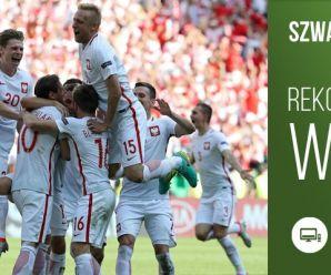 Mecz Szwajcaria – Polska transmitowany  w TVP1 z rekordowymi udziałami TV w 2016 roku!
