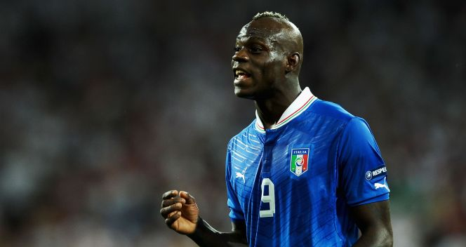 Mario Balotelli (fot. Getty)