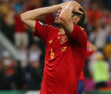Iniesta żałuje zmarnowanej okazji (fot. Getty Images)