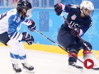Oglądaj półfinał hokeja kobiet USA – Finlandia!