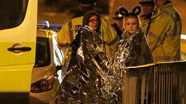 Policja zabezpieczyła teren (fot. REUTERS/Andrew Yates )