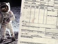 Podróż służbowa… na Księżyc. Buzz Aldrin dostał 33 dol. za misję Apollo 11