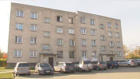 Do makabrycznej zbrodni doszło w jednym z bloków w centrum Ostródy
