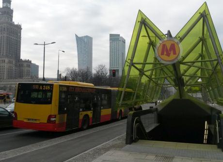 Centralny odcinek II linii metra cz. 1