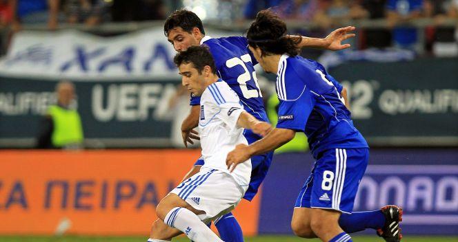 Grecja 2:1 pokonała Izrael (fot.PAP/EPA)