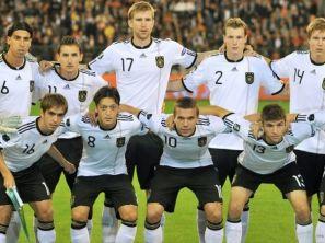 Reprezentacja Niemiec (fot. PAP/EPA)