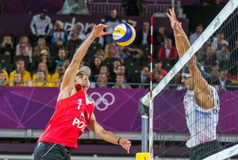 Pokonanie amerykańskiego duetu to jeden z większych sukcesów Fijałka i Prudla (fot. PAP/Adam Ciereszko)