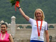 Emma Pooley zdobyła srebrny medal w jeździe na czas (fot. Getty Images)
