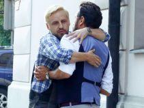 Wcześniej Krzysztof celebrował Międzynarodowy Dzień Przytulania (fot. A. Grochowska)