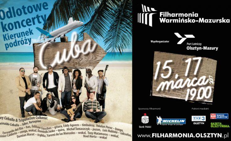 Dwa kubańskie koncerty odbędą się 15 i 17 marca