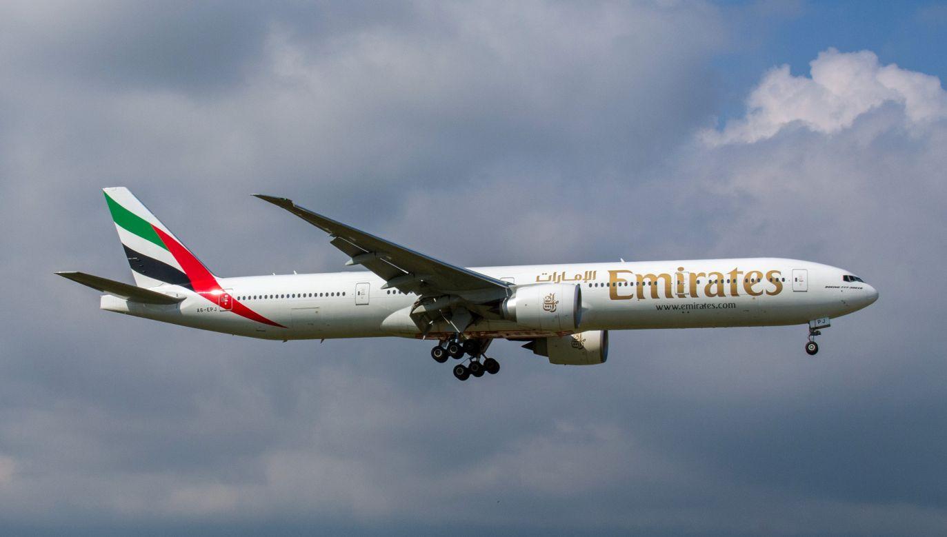 Samolot ZEA leciał do Bahrajnu (zdjęcie ilustracyjne, wikimedia.org)