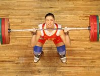 Cao Lei – mistrzyni w kategorii 75 kg (fot. Getty Images)