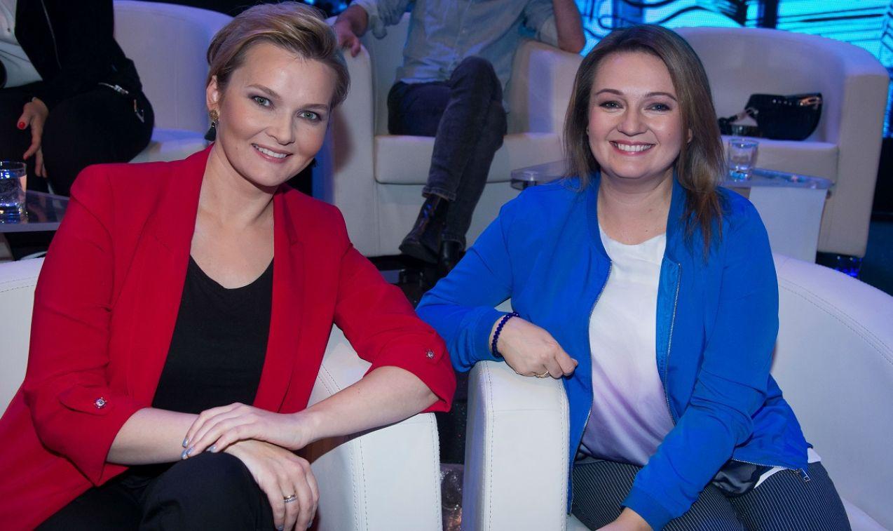 Uczestnicy byli świetnie przygotowani jak m.in. Agnieszka Porzezińska i Elżbieta Pietrzak (fot. TVP)