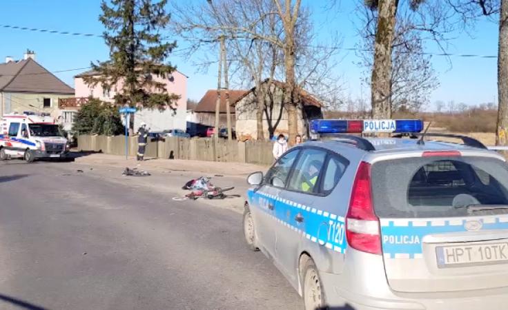 Do zdarzenia doszło na skrzyżowaniu ulicy Kajki z Wipsową