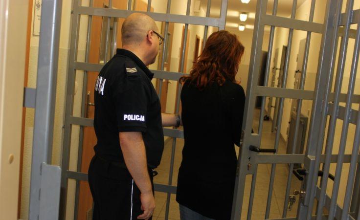 Jedna z kobiet została aresztowana (fot. KPP Lipno)