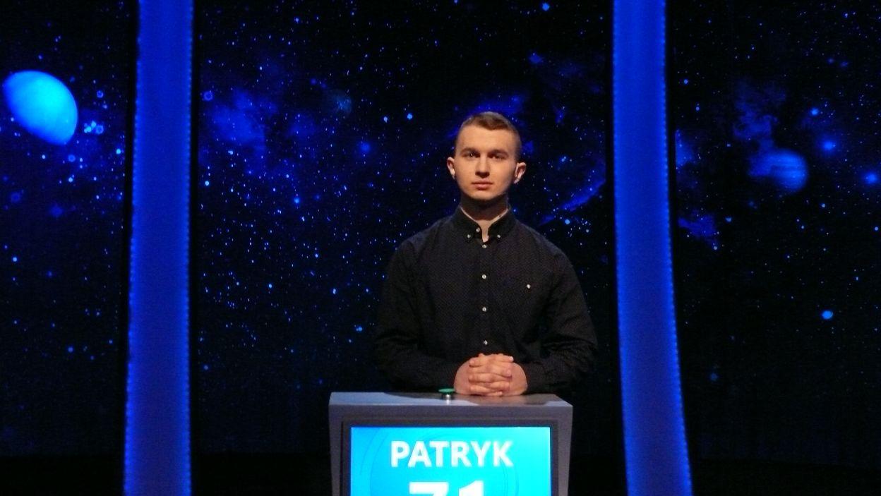 Patryk Kwiatkowski - zwycięzca 19 odcinka 110 edycji