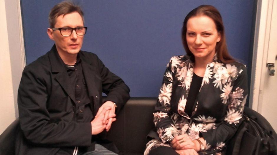 Andrzej Bartnikowski, dyrektor Olsztyńskiego Teatru Lalek i Agnieszka Kołodyńska, dyrektor Miejskiego Ośrodka Kultury w Olsztynie