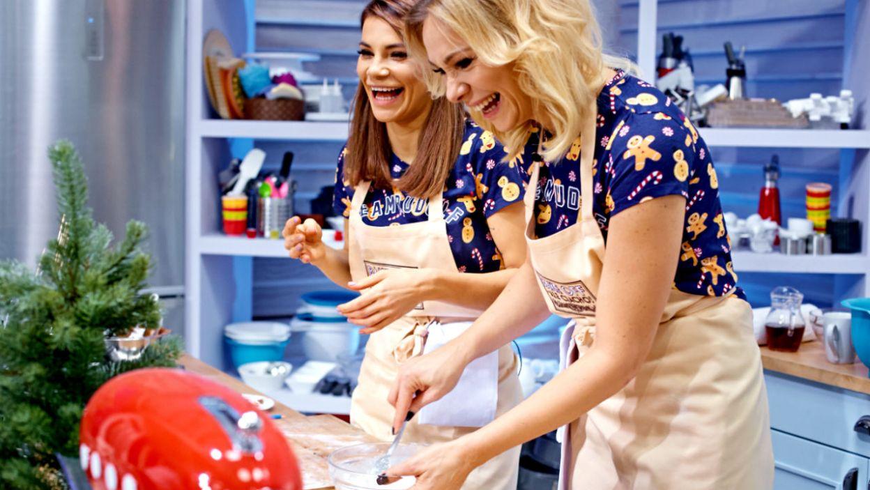 Siostry Bohosiewicz wybrały ekstrawaganckie, świąteczne wariacje kulinarne (fot. TVP)
