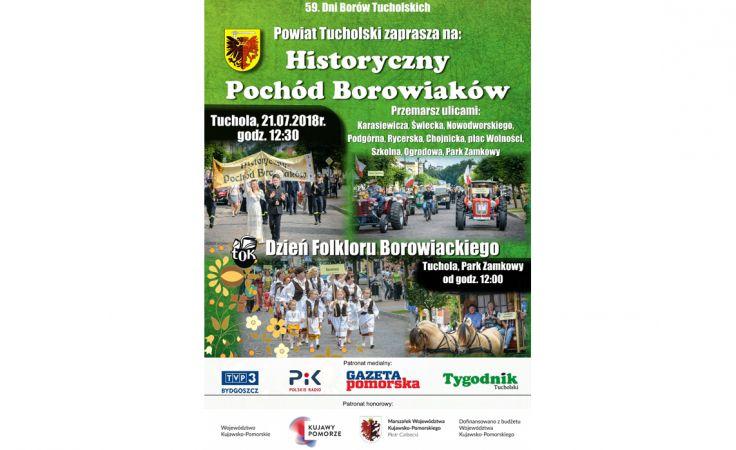VII Historyczny Pochód Borowiaków