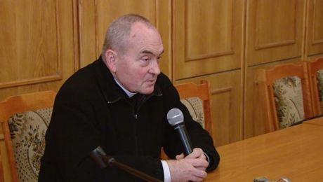 Olsztyn odwiedził ksiądz Stanisław Małkowski.