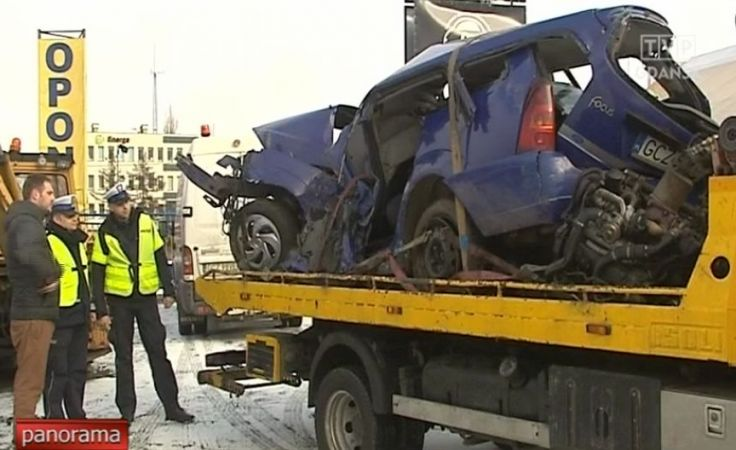 Dwie osoby zginęły w wypadku w powiecie człuchowskim