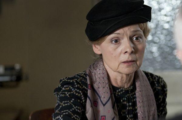 Ewa Wencel na planie czwartej serii (fot. TVP)