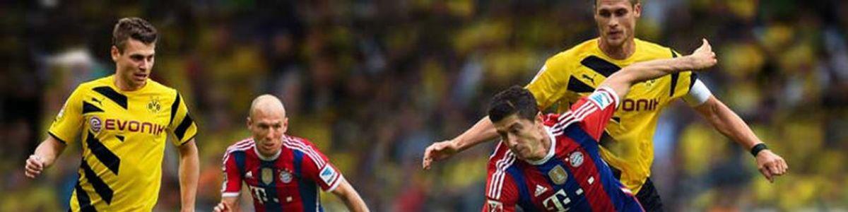 Puchar Niemiec 1/2 F Bayern Monachium - Borussia Dortmund